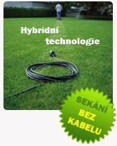 Hybridní technologie - sekání bez kabelu